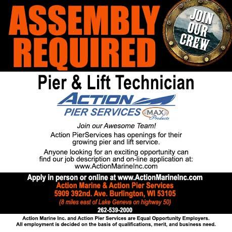 Help Wanted Pier Technician
